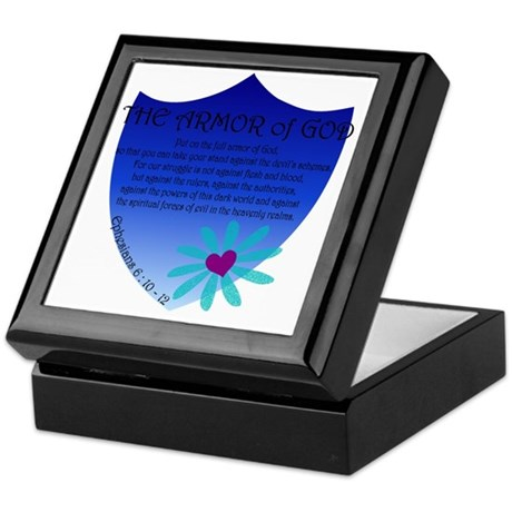 Armor Of God Jewelry Boxes CafePress
