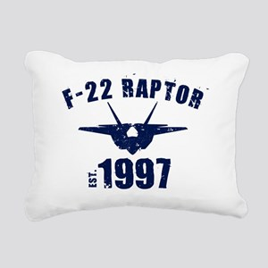 varsity-f22-97-navy Rectangular Canvas Pillow