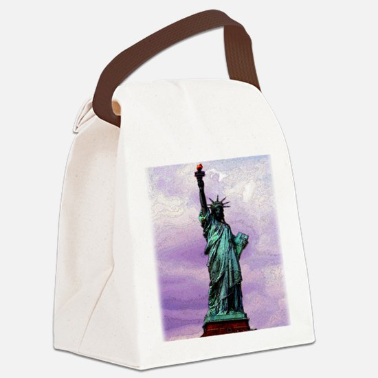 statue_of_liberty copy Canvas Lunch Bag