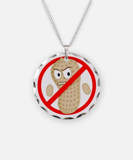 Angry_Peanut_Tshirt Necklace