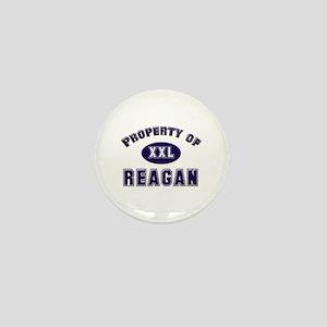 Property of reagan Mini Button