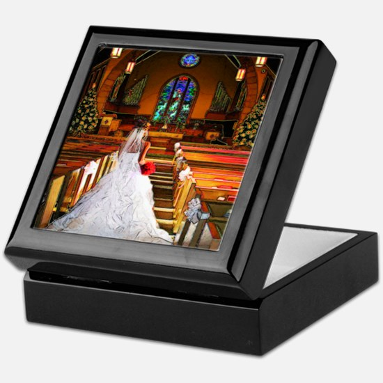 wedding_gown copy Keepsake Box