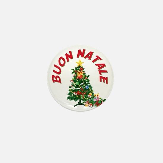 buon natale aa Mini Button