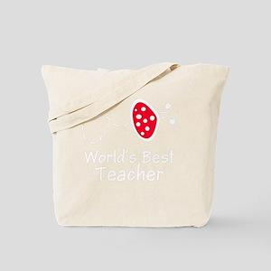 Ladybug Teach -dk Tote Bag