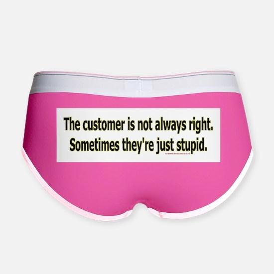 customerstupid2100x700 Women's Boy Brief