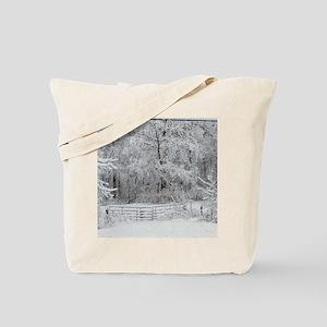 FebruarySnowEatonOhio Tote Bag