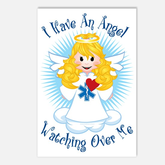 Angel-Watching-Over-Me-EM Postcards (Package of 8)