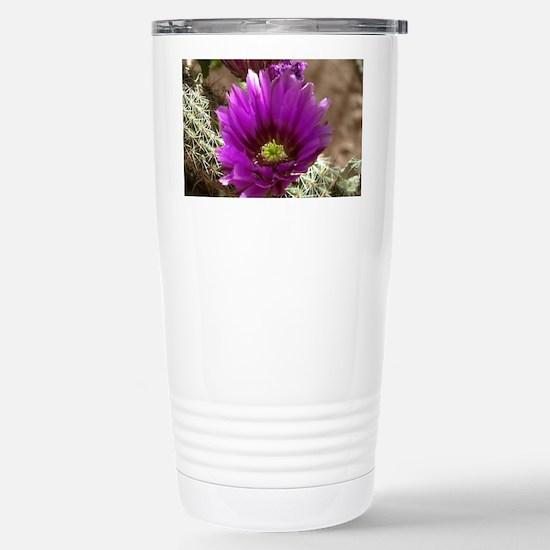 prp_hedgehog_Lg_framed Stainless Steel Travel Mug