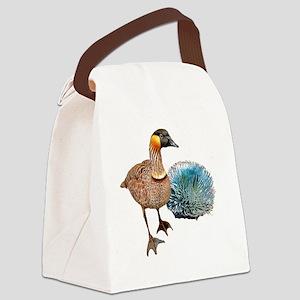 NeNe - Hawaiian Goose extra large Canvas Lunch Bag