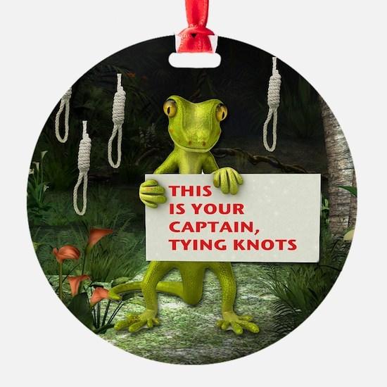 CAPTIAN KNOTS Ornament