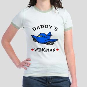 Daddys Wingman Jr. Ringer T-Shirt