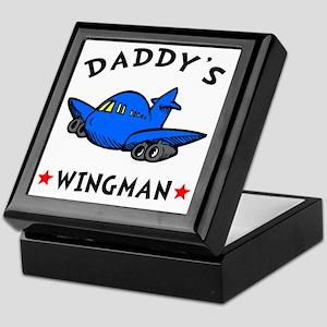 Daddys Wingman Keepsake Box