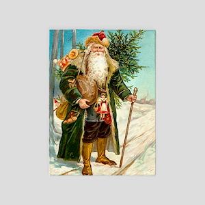 ! Santa 2 5'x7'Area Rug