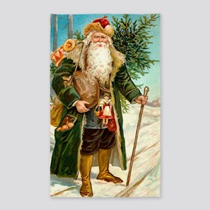! Santa 2 3'x5' Area Rug