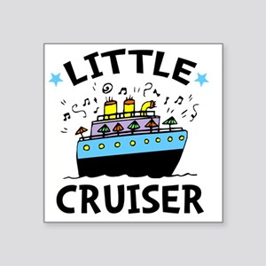 "Cruiser Square Sticker 3"" x 3"""