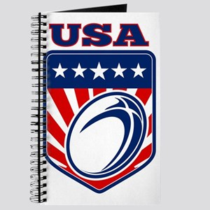 American rugby ball shield USA Journal