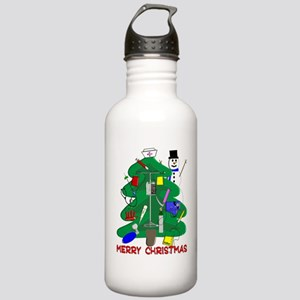 Merry Christmas NURSE  Stainless Water Bottle 1.0L