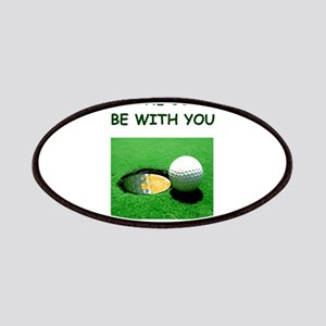 i love golf Patches