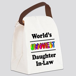 Grooviest_Daughter-In-Law Canvas Lunch Bag