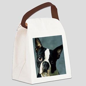 BT Portrait L print Canvas Lunch Bag