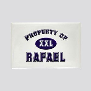 Property of rafael Rectangle Magnet