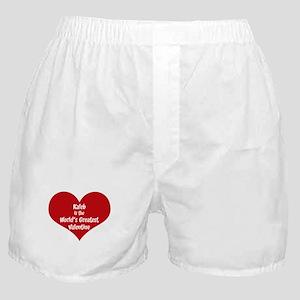 Greatest Valentine: Kaleb Boxer Shorts