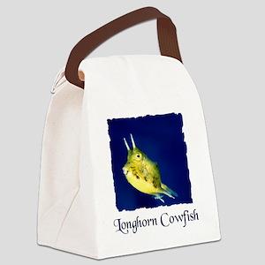 cowfish shirt Canvas Lunch Bag