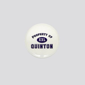 Property of quinton Mini Button