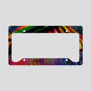 geo_lights_Colored_pencils co License Plate Holder