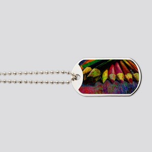 geo_lights_Colored_pencils copy Dog Tags