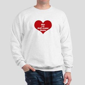 Greatest Valentine: Oliver Sweatshirt