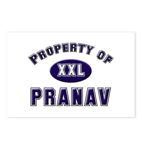 Property of pranav Postcards (Package of 8)
