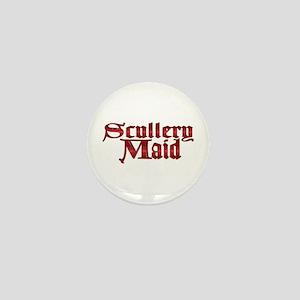 Skullery Maid Mini Button