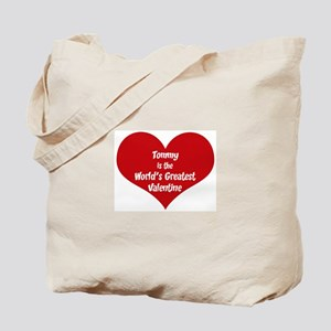 Greatest Valentine: Tommy Tote Bag
