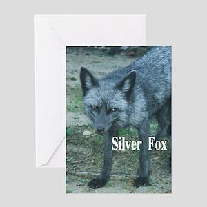 Fox2.34x3.2a Greeting Card
