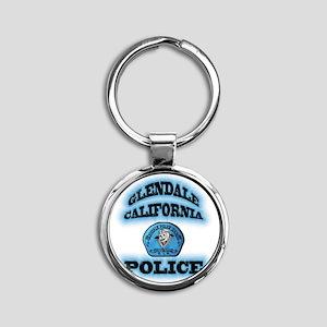 glendalegangs Round Keychain