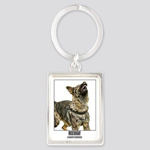 nice doggy Portrait Keychain