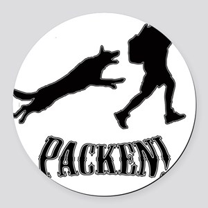 packen image Round Car Magnet