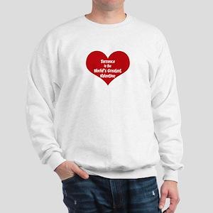 Greatest Valentine: Terrence Sweatshirt