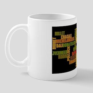 ArtistsWordle Mug