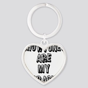 SHOWTUNES ARE MY Heart Keychain