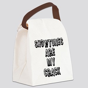 SHOWTUNES ARE MY Canvas Lunch Bag