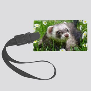 ferretcalcover2 Large Luggage Tag