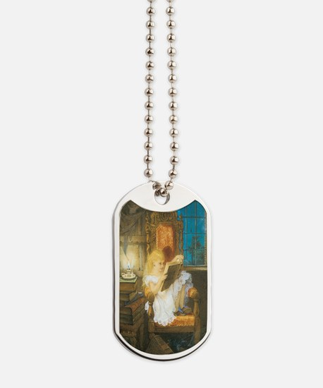 The Scary Story Dog Tags