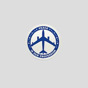 Peace Is Our Profession - B-47 Blue SA Mini Button