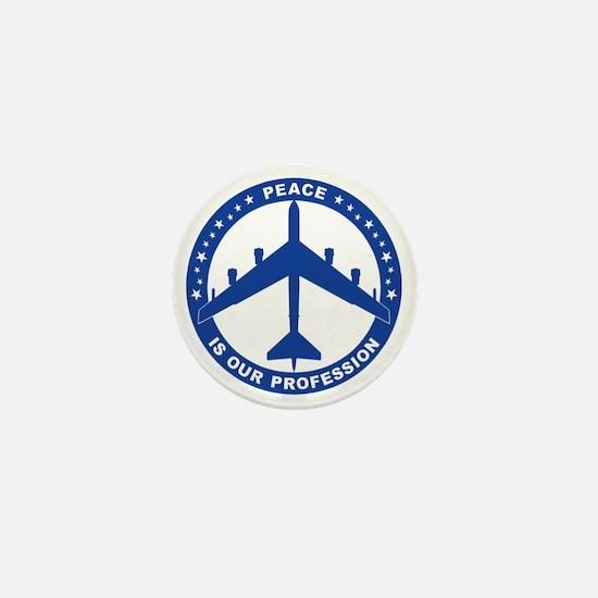 Peace Is Our Profession - B-52H Blue S Mini Button