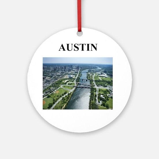 Austin Texas Gifts (round) Round Ornament