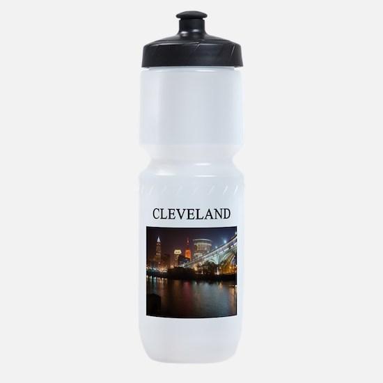 cleveland ohio Sports Bottle