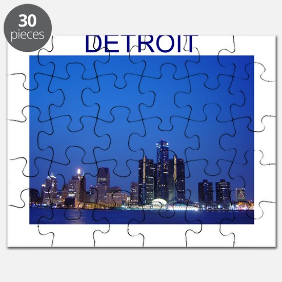 detroit michigan gifts Puzzle