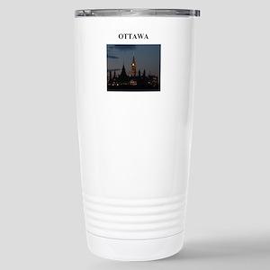 OTTAWA canada gifts Stainless Steel Travel Mug